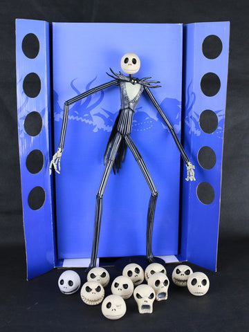 Jack 15″ Figure 12 Skull Heads Doll - 50% OFF + FREE SHIPPING