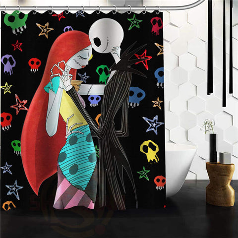 Jack & Sally Shower Curtain - 50% OFF + FREE SHIPPING!