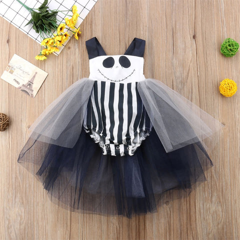 Jack Baby Girl Tutu Jumpsuit Outfit