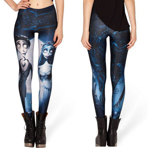 Corpse Bride Leggings - 50% OFF + FREE SHIPPING