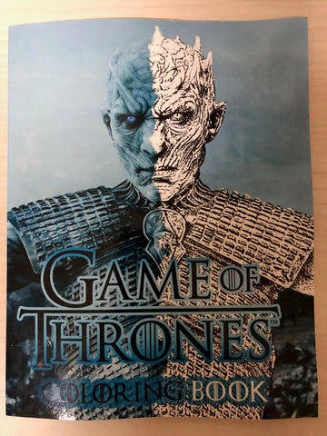 Game of Thrones Coloring Book - 50% OFF