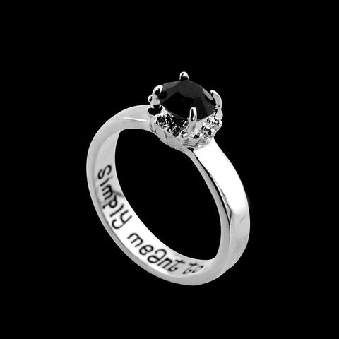 jack sally meant to be ring 50 off free shipping - Nightmare Before Christmas Wedding Rings