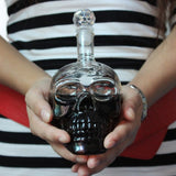 Skull Glass Decanter