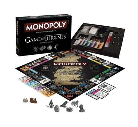GAME OF THRONES MONOPOLY BOARD GAME - 50% OFF + FREE SHIPPING