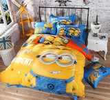 MINIONS HAPPY MOMENT BEDDING SET - 50% OFF + FREE SHIPPING