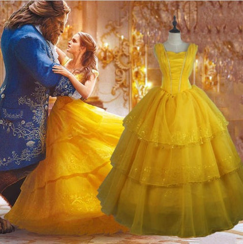 Beauty and The Beast Dress - 50% OFF + FREE SHIPPING