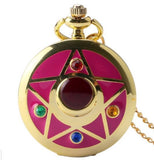 SAILOR MOON POCKET WATCH NECKLACE - 60% OFF + FREE SHIPPING