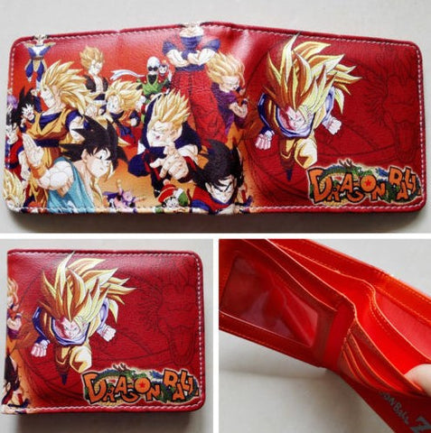 Dragon Ball Z Red Wallet - 35% OFF + FREE SHIPPING