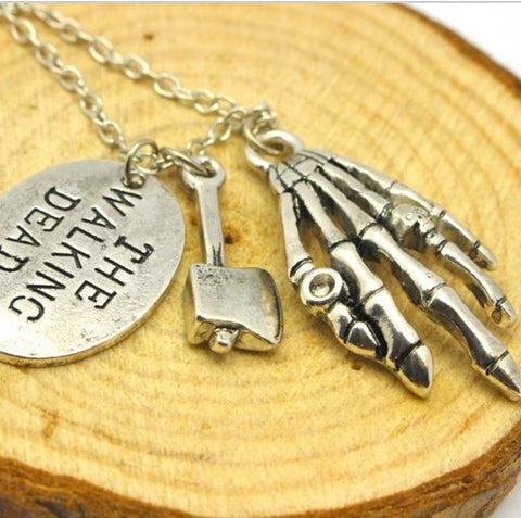 Walking Dead Axe Necklace