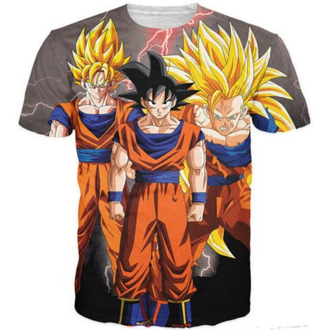 Dragon Ball Z 3D T-Shirt