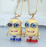 Minions Crystal Pendant Necklace - 60% OFF + FREE SHIPPING