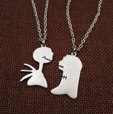 Jack Sally Couple Necklaces - 50% OFF + FREE SHIPPING