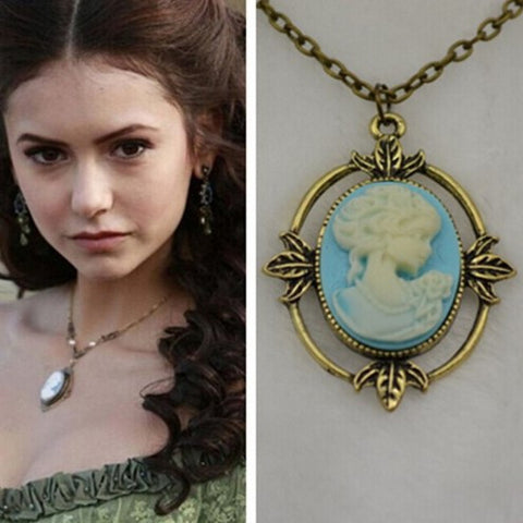 Vampire Diaries Katherine Head Necklace - 60% OFF + FREE SHIPPING