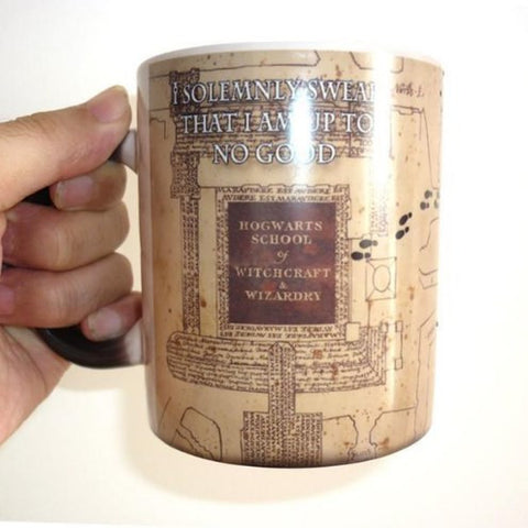 HARRY POTTER MISCHIEF MANAGED MUG - 50% OFF + FREE SHIPPING