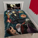 THE NIGHTMARE BEFORE CHRISTMAS BEDDING SET - 50% OFF + FREE SHIPPING