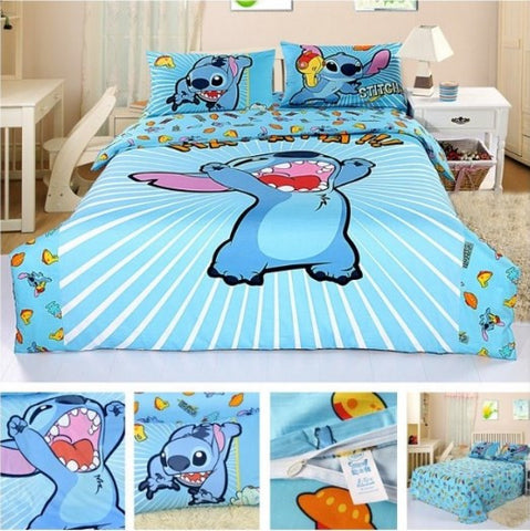 LILO AND STITCH BEDDING SET - 50% OFF + FREE SHIPPING