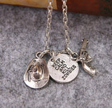 Walking Dead Gun Necklace