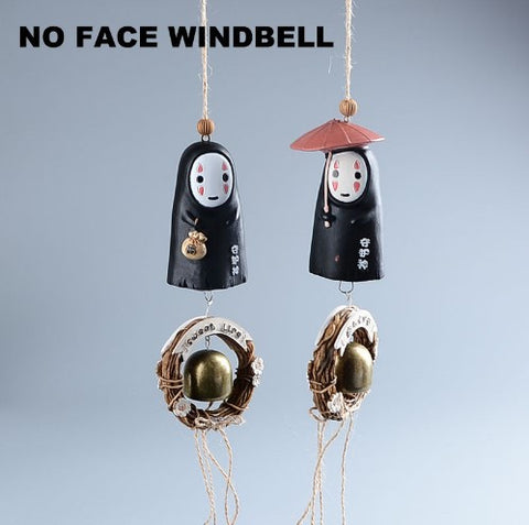 SPIRITED AWAY NO FACE WIND BELL - 50% OFF + FREE SHIPPING