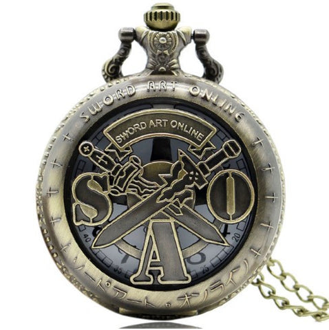 Sword Art Online Pocket Watch - 60% OFF + FREE SHIPPING