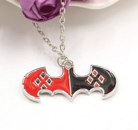 Harley Quinn Bat Necklace - 60% OFF + FREE SHIPPING