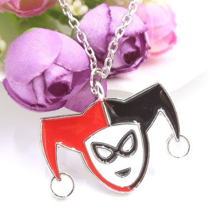Harley Quinn Logo Necklace - 60% OFF + FREE SHIPPING