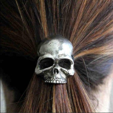 Skull Pony Tail Holder - 60% OFF + FREE SHIPPING
