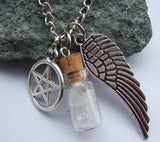 Supernatural Angel Wing Protection Necklace