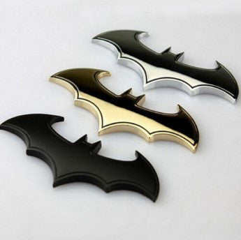 Batman 3D Chrome Emblem For Automobile or Motorcycle - 50% OFF + FREE SHIPPING