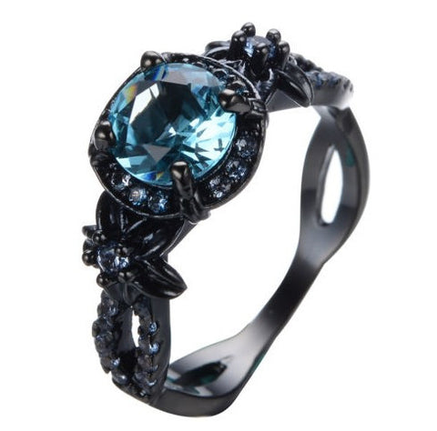 Steampunk Mermaid Queen's Gem Ring