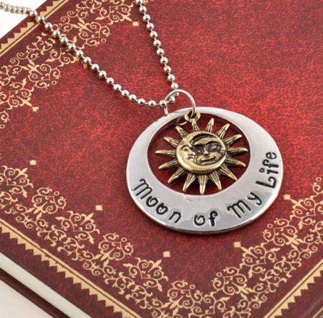 Game of Thrones Inspired Khal & Khaleesi Necklace