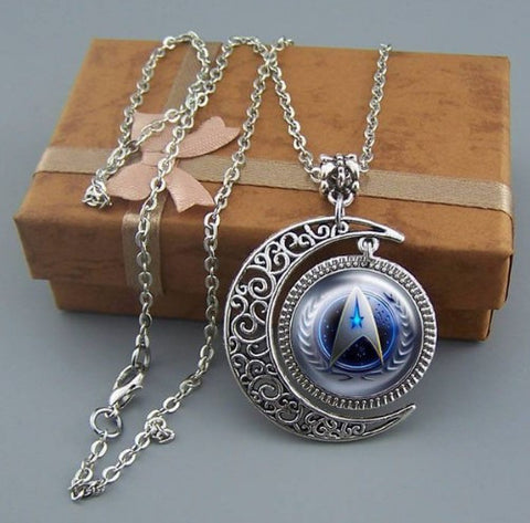 Star Trek Moon Necklace - 60% OFF + 100% FREE SHIPPING