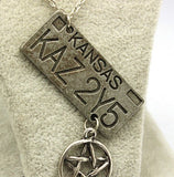Supernatural Kansas Necklaces - 60% OFF + FREE SHIPPING