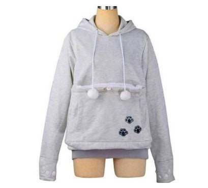 DOG HOODIE WITH DOG CUDDLE KANGAROO POUCH - 50% OFF + FREE SHIPPING