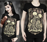 Skull Love Vintage Woman T-Shirt - 50%OFF + FREE SHIPPING