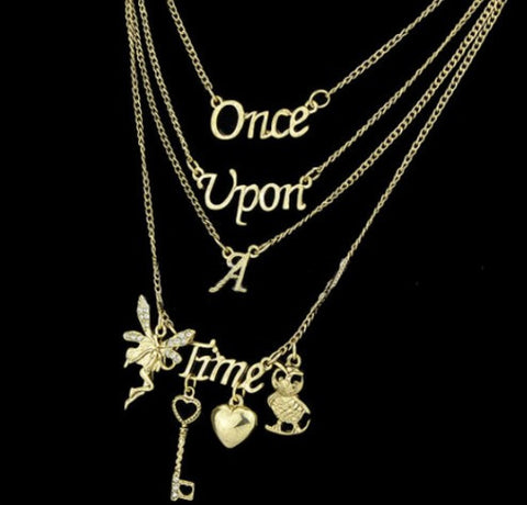 Once Upon A Time Multi Layer Necklace - 60% OFF + FREE SHIPPING