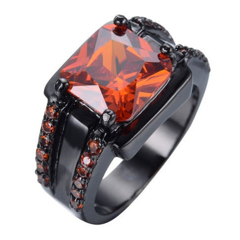 Inferno Lava Gem Ring