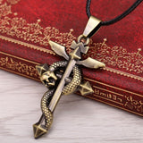 Fullmetal Alchemist Bronze Metal Necklace - 60% OFF + FREE SHIPPING