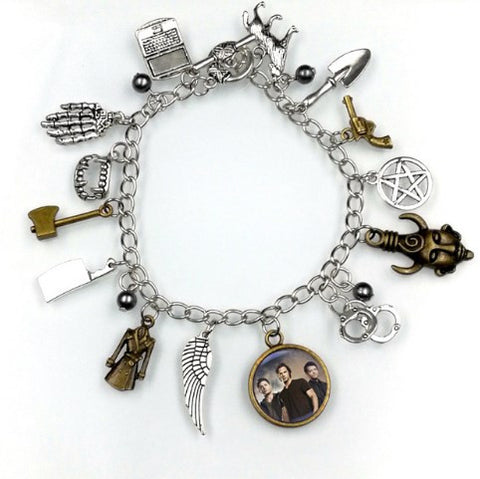 New Supernatural Inspirational Charm Bracelet - 60% OFF + FREE SHIPPING