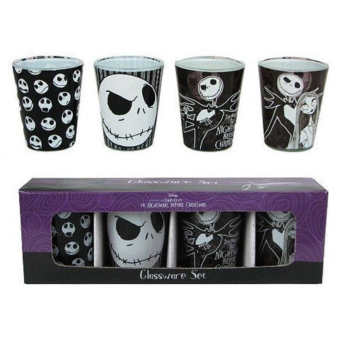 New Jack Shot Glasses 4pcs Set - 50% OFF + FREE SHIPPING