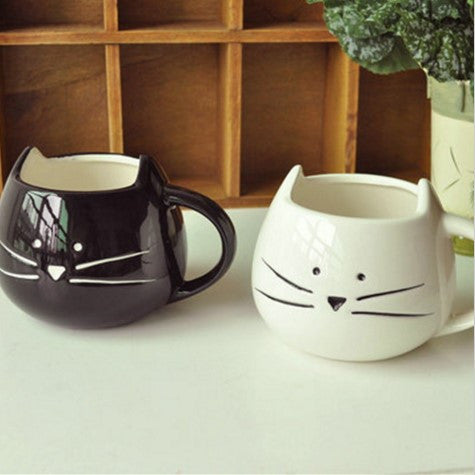 Cat Cartoon Ceramic Mug