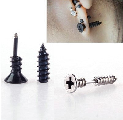 Screw Charm Earrings - 75% OFF + FREE SHIPPING
