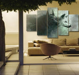 WOLVES 5 PIECE CANVAS - 50% OFF + FREE SHIPPING
