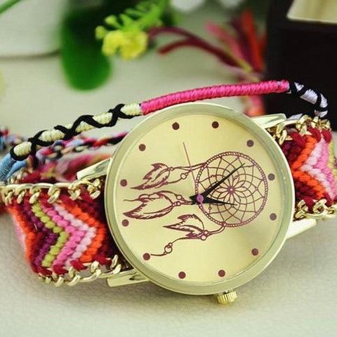 Dreamcatcher Friendship Bracelet Watch - 50% OFF + FREE SHIPPING