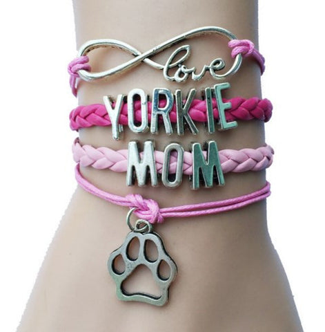 Stylish Yorkie Bracelet