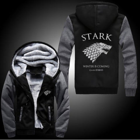 'Winter is Coming' Unique Thick Hoodie - 35% OFF + FREE SHIPPING
