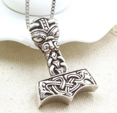 VIKINGS THE DARK WORLD HAMMER NECKLACE - 50% OFF + FREE SHIPPING
