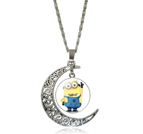 Minions Moon Necklace - 60% OFF + FREE SHIPPING