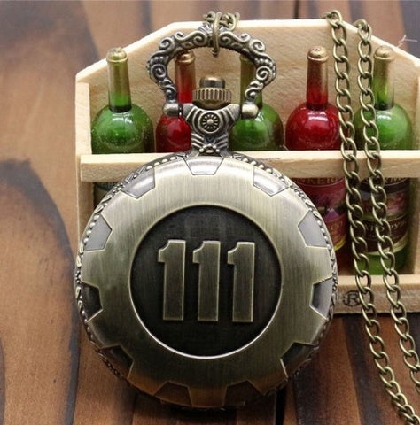 Fallout 4 111 Pocket Watch - 60% OFF + FREE SHIPPING