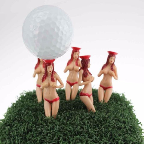 Bikini Lady Golf Tees 6pcs Set - 50% OFF + FREE SHIPPING