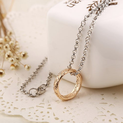 "Lord of The Rings ""The One Ring"" Necklace - 60% OFF + FREE SHIPPING"